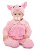 Fato Carnaval Porquinho Adorável Bebé