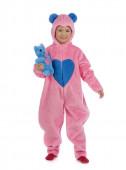 Fato Carnaval Urso Carinhoso Rosa