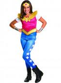Fato Carnaval Wonder Woman Menina