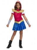 Fato Carnaval Wonder Woman SuperHero Girls