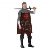 Fato Cavaleiro Cruzadas Adolescente