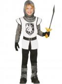 Fato Cavaleiro medieval Branco