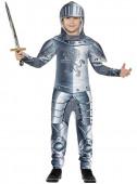 Fato Cavaleiro medieval para menino