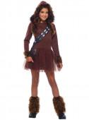 Fato Chewbacca Star Wars Menina