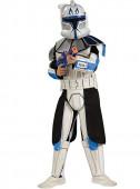 Fato Clone Trooper Rex deluxe  com caixa