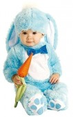 Fato Coelho Azul bebé