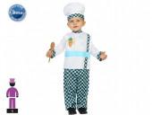Fato Cozinheiro Bebé