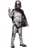 Fato da Capitã Phasma Star Wars Episódio VII para menina