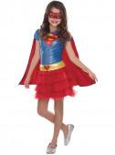 Fato da Justiceira Supergirl para menina