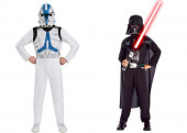 Fato Darth Vader e Clone Trooper