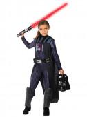 Fato Darth Vader Menina Star Wars