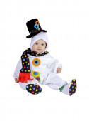 Fato de bebé boneco de neve
