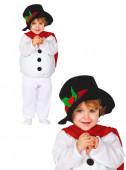 Fato de Boneco de neve 2 peças para bebé