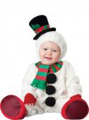 Fato de Boneco de neve adorável para bebé