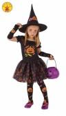 Fato de bruxa candy completo