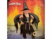 Fato de Bruxa com Asas