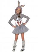 Fato de Bugs Bunny para menina