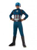 Fato de Capitão América-Guerra Civil para menino