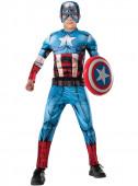 Fato de Capitão América Vingadores Unidos deluxe