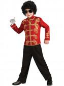 Fato de Carnaval Jaqueta Michael Jackson