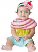 Fato de cupcake irresistivel para bebé