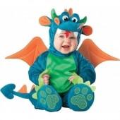 Fato de Dragão Drac bebé luxo