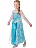 Fato de Elsa c/Peruca Frozen Disney