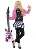 Fato de estrela de rock famosa