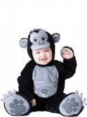 Fato de gorila luxo amoroso para bebé