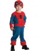 Fato de homem aranha bebé