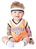 Fato de jogador de basquete para bebé