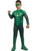 Fato de Lanterna Verde musculado deluxe