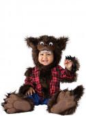 Fato de lobo para bebé