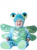 Fato de luxo Libelinha azul para bebé