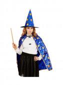 Fato de mago com estrelas para Carnaval
