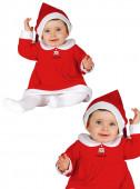 Fato de Mamã Natal adorável para bebé