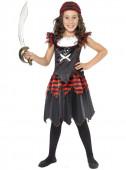 Fato de menina pirata