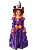 Fato de Minnie Mouse Bruxa