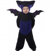 Fato de morcego para bebé luxo halloween
