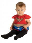 Fato de Mulher Maravilha DC Comics deluxe para bebé