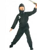 Fato de ninja negro