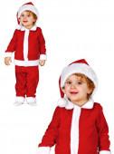 Fato de Pai Natal 3 peças  para bebé