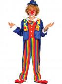 Fato de Palhaço circo para menino