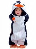 Fato de Pinguim adorável para bebé