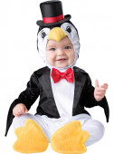 Fato de pinguim elegante para bebé