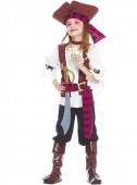 Fato de pirata dos 7 mares para menina