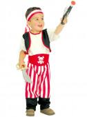 Fato de pirata para bebé