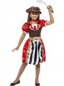 Fato de Pirata Vermelha