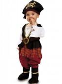 Fato de piratinha para bebé