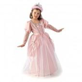 Fato de princesa rosa deluxe